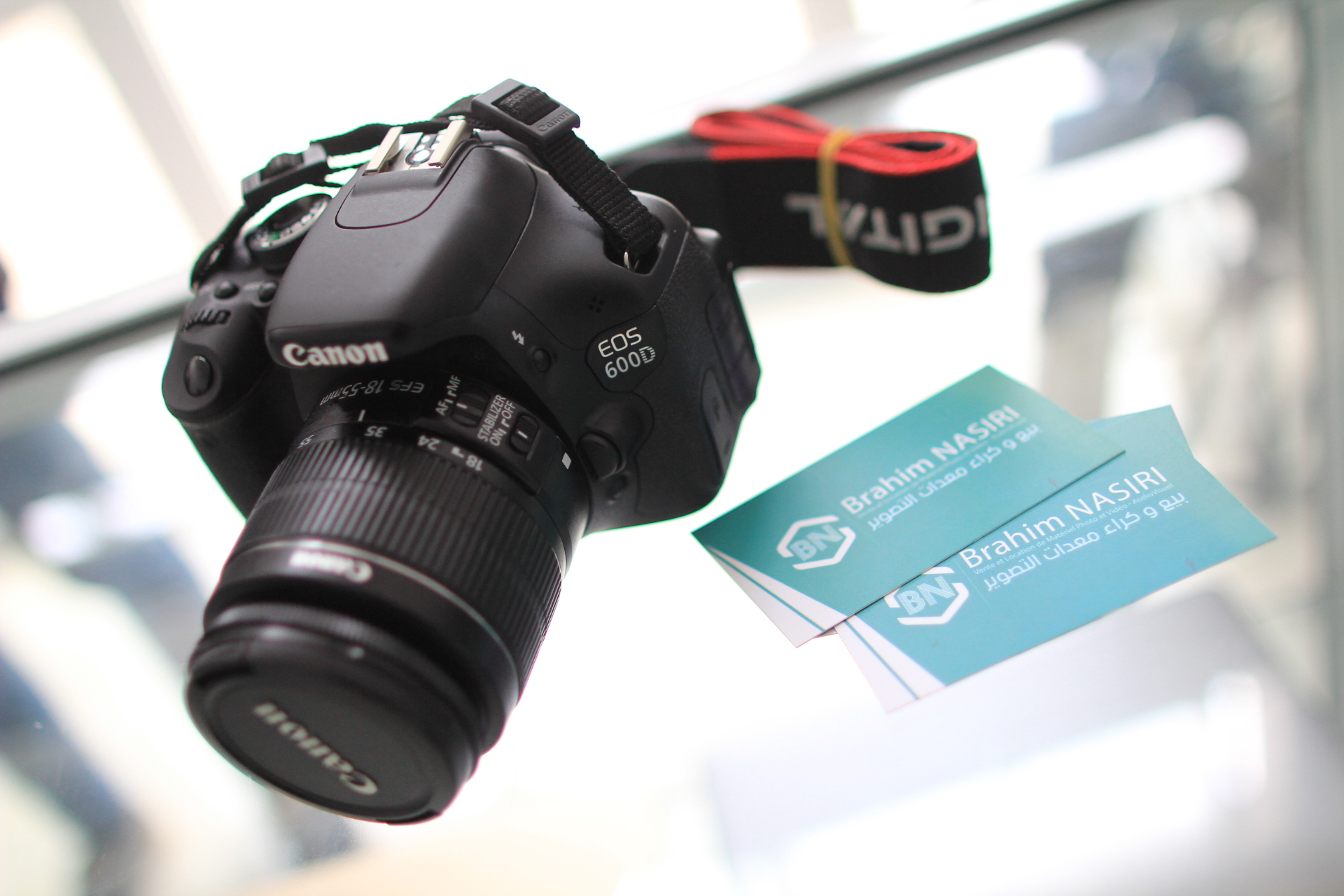 Canon EOS 600D with EF-S 18-55mm f/3 5-5 6 IS Lens
